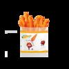 Фото к позиции меню Морковные палочки