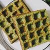Фото к позиции меню Вафли из шпината и брокколи