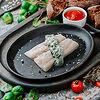 Фото к позиции меню Нежное филе белой рыбы