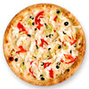 Фото к позиции меню Цезарь пицца