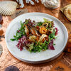 Фото к позиции меню Салат с горячими морепродуктами