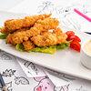 Фото к позиции меню Хрустящие куриные наггетсы