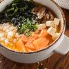 Фото к позиции меню Суп с лососем