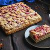 Фото к позиции меню Сливовый пирог порция
