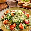 Фото к позиции меню Цезарь салат с креветками